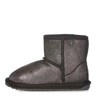 EMU K11856 BLAK Wallaby Mini Metallic Black