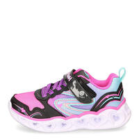 Skechers 20294L-BKMT-HEART LIGHTS