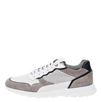 Salamander 31-54904-25 COW SUEDE,COW NAPPA LIGHT GREY,WHITE