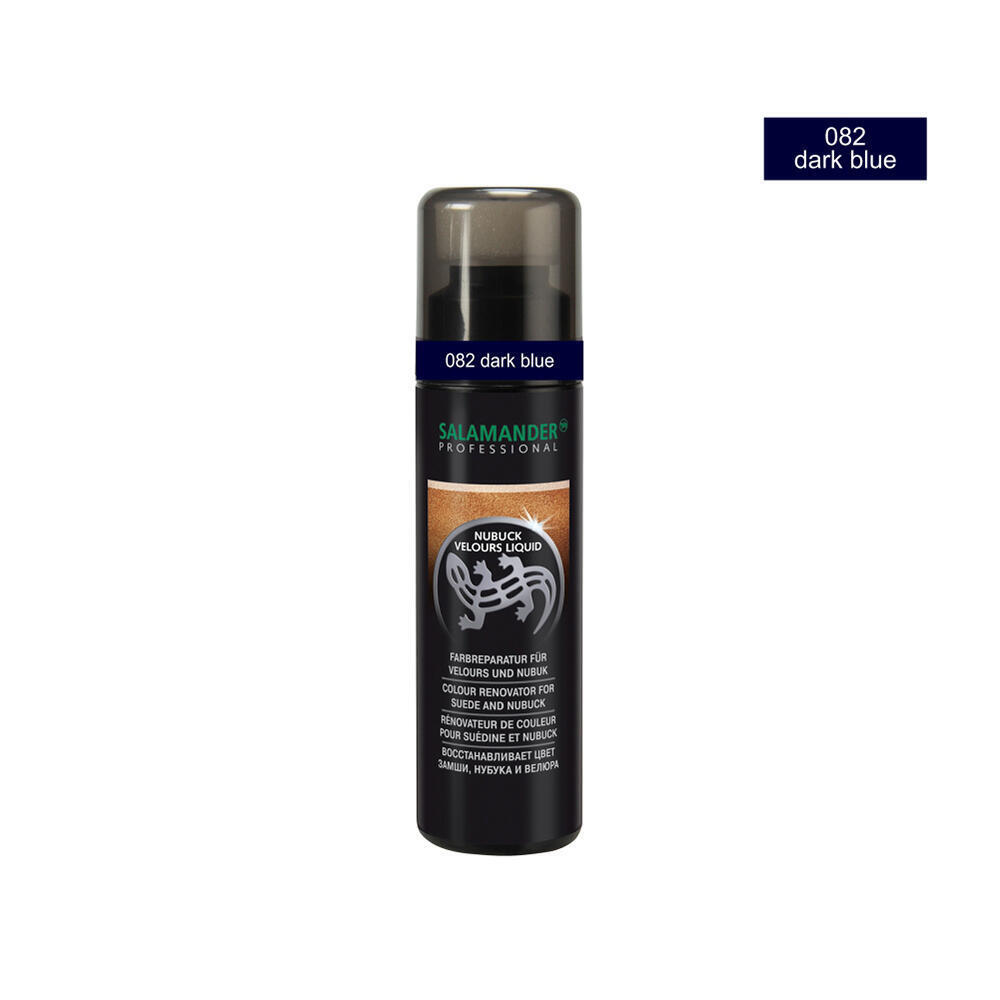Salamander Professional 1.4.88270.725.C-082 Nubuk Velour Liquid 75ml-dark blue